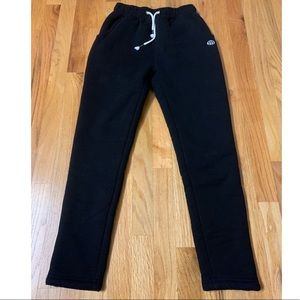 Women's Warm Sherpa Lined Athletic Jogger Pants